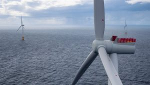 View from Equinor's floating wind farm Hywind Scotland, Credit: Øyvind Gravås/Woldcam for Equinor
