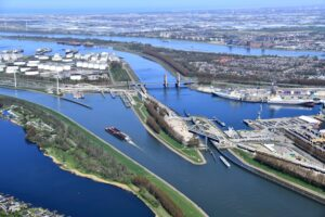 A view of the Rotterdam Port, Netherlands. Credit: Rotterdam Port's official website