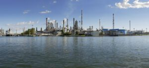 Eni's bio-refinery in Venice, Italy; the world's first such facility. Credit: Eni website