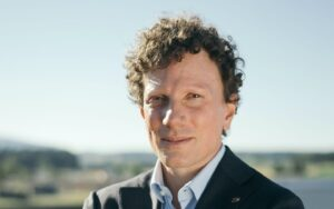 Christoph Gebald, co-CEO and co-founder of Climeworks. Credit: Climeworks website