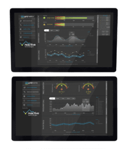 A view of Reactive Technologies' Grid Inertia Measurement Service, a unique digital solution to enable countries to manage grid instability. Credit: Reactive Technologies