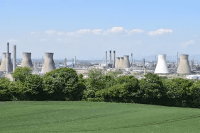 A view of INEOS Grangemouth's oil refinery. Credit: INEOS website