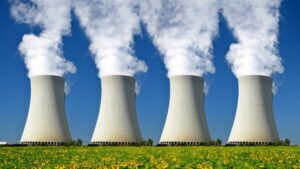 In 2019, Nuclear power generated around 10% of world's total energy